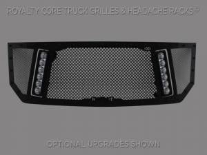 Grilles & Badges - Grilles - Royalty Core - Royalty Core Chevrolet 1500 2016-2018 RCX Explosive Dual LED Grille