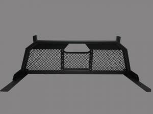 Exterior - Headache Racks - Royalty Core - Royalty Core Dodge 1500 2002-2008 RC88 Ultra Billet Headache Rack with Diamond Mesh