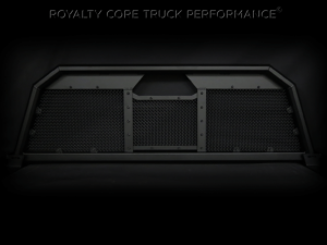 Exterior - Headache Racks - Royalty Core - Royalty Core Dodge Ram 2500/3500/4500 1994-2002 RC88 Billet Headache Rack w/ Diamond Mesh