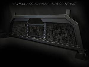 Exterior - Headache Racks - Royalty Core - Royalty Core Ford F-150 2004-2015 RC88 Ultra Billet Headache Rack with Diamond Crimp Mesh