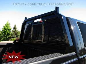 Exterior - Headache Racks - Royalty Core - Royalty Core Ford F-150 2013-2014 RC88 Headache Rack with Diamond Crimp Mesh