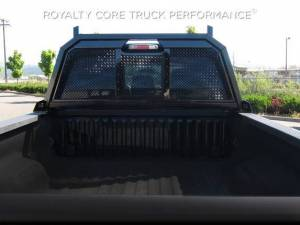 Exterior - Headache Racks - Royalty Core - Royalty Core Ford Superduty F-250 F-350 1999-2010 RC88 Headache Rack with Diamond Crimp Mesh