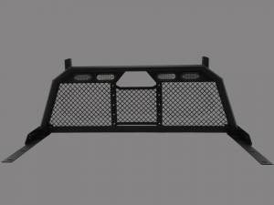 Exterior - Headache Racks - Royalty Core - Royalty Core Dodge Ram 1500 2002-2008 RC88 Ultra Billet Headache Rack w Integrated Taillights