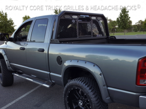 Exterior - Headache Racks - Royalty Core - Royalty Core Dodge Ram 2500/3500 2010-2017 RC88 Billet Headache Rack w/ Integrated Taillights