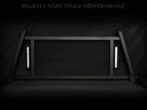 Exterior - Headache Racks - Royalty Core - Royalty Core Ford F-150 2004-2016 RC88X Ultra Billet Headache Rack with LED Light Bars