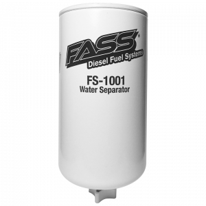 Fuel System & Components - Fuel System Parts - FASS - FASS Grey Titanium Water Separator (Emulsified Water) - FS-1001