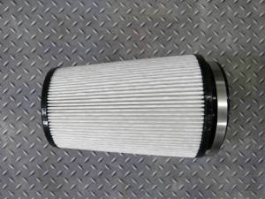 """Wehrli Custom Fabrication - Wehrli Custom Fabrication Dry Air Filter 4"""" Inlet"""
