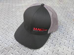 Gear & Apparel - Hats - Wehrli Custom Fabrication - Wehrli Custom Fabrication Snap Back Hat Black/Charcoal WCFab