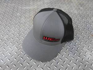 Gear & Apparel - Hats - Wehrli Custom Fabrication - Wehrli Custom Fabrication Snap Back Hat Charcoal/Black WCFab