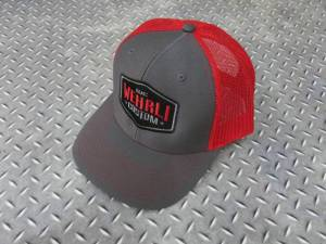 Gear & Apparel - Hats - Wehrli Custom Fabrication - Wehrli Custom Fabrication Snap Back Hat Charcoal/Red Badge