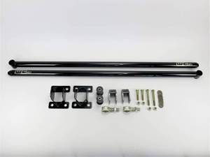 "Wehrli Custom Fabrication - Wehrli Custom Fabrication 2011-2019 Duramax 60"" Traction Bar Kit (RCLB/CCSB/ECSB)"