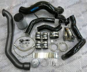 Turbo Chargers & Components - Turbo Charger Kits - Wehrli Custom Fabrication - Wehrli Custom Fabrication S400 Single Install Kit LLY Duramax