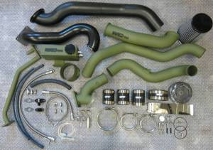 Turbo Chargers & Components - Turbo Charger Kits - Wehrli Custom Fabrication - Wehrli Custom Fabrication S400/S300 Twin Kit LBZ Duramax