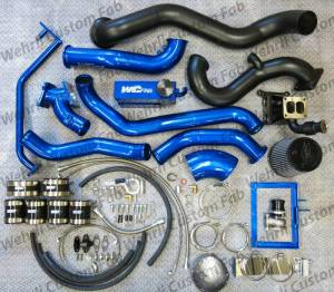 Turbo Chargers & Components - Turbo Charger Kits - Wehrli Custom Fabrication - Wehrli Custom Fabrication S400/S300 Twin Kit LML Duramax