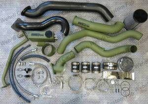Turbo Chargers & Components - Turbo Charger Kits - Wehrli Custom Fabrication - Wehrli Custom Fabrication S400/S300 Twin Kit LMM Duramax