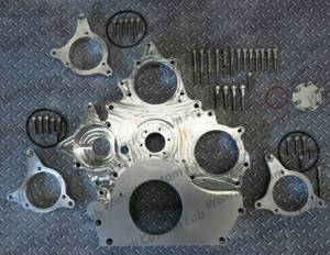 Engine Parts - Engine Accessories - Wehrli Custom Fabrication - Wehrli Custom Fabrication Duramax Billet Front Engine Cover