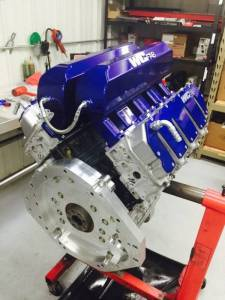 Wehrli Custom Fabrication - Wehrli Custom Fabrication Duramax Billet Rear Engine Adapter plate