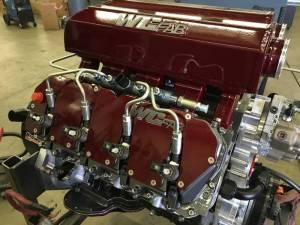 Wehrli Custom Fabrication - Wehrli Custom Fabrication Duramax Billet Upper Valve Cover Set LLY, LBZ, LMM