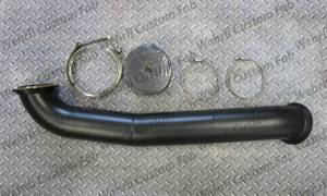 "Turbo Chargers & Components - Down Pipes - Wehrli Custom Fabrication - Wehrli Custom Fabrication Duramax S300 3"" Down Pipe"