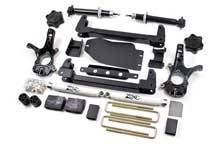 "Zone Offroad - Zone Offroad Chevy/GMC 4.5"" Suspension System - ZONC8"