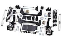 "Zone Offroad - Zone Offroad Dodge/Ram 4"" Suspension System - ZOND1/D23"