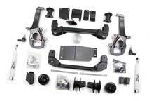 "Zone Offroad - Zone Offroad Dodge/Ram 4"" Suspension Lift Kit - ZOND42/D43"