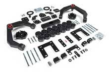 "Zone Offroad - Zone Offroad Dodge/Ram 4"" Combo Lift Kit - ZOND60"