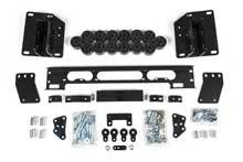 "Zone Offroad - Zone Offroad Dodge/Ram 1.5"" Body Lift Kit - ZOND9152"
